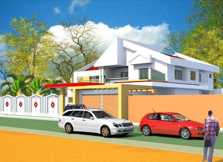 Projet de construction d'une residence a Yaounde au Cameroun, Albert Kwessi
