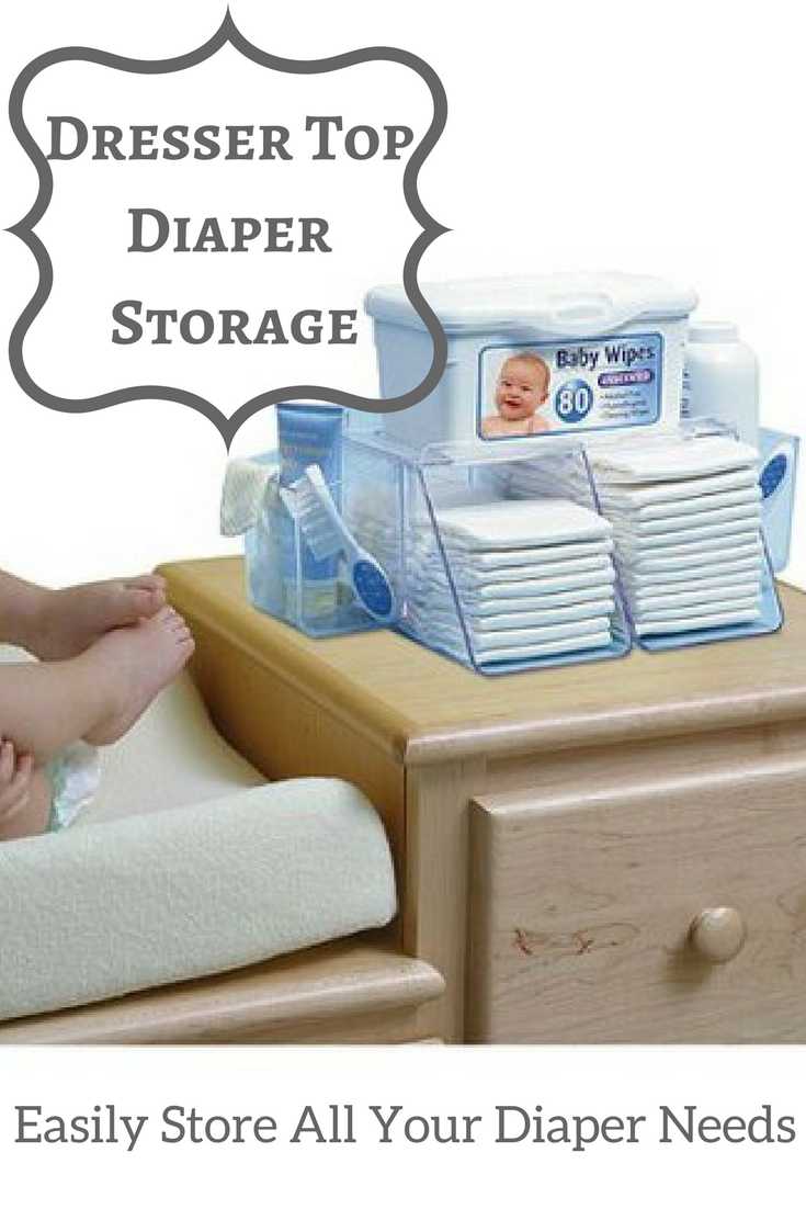 The Dresser Top Diaper Depot Helps With Those 3a M Changes By Keeping