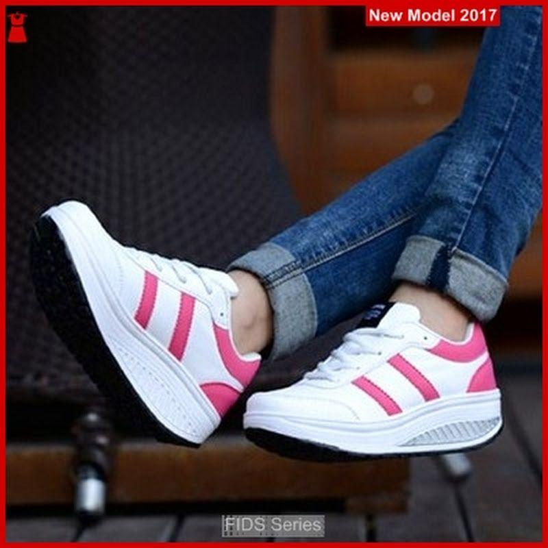 Fids114 Sepatu Wanita Sepatu Kets Warna Hijau Bmg Sepatu Kets