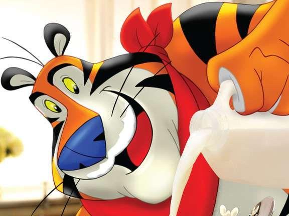 Tony the Tiger Gets His Gay Stripes