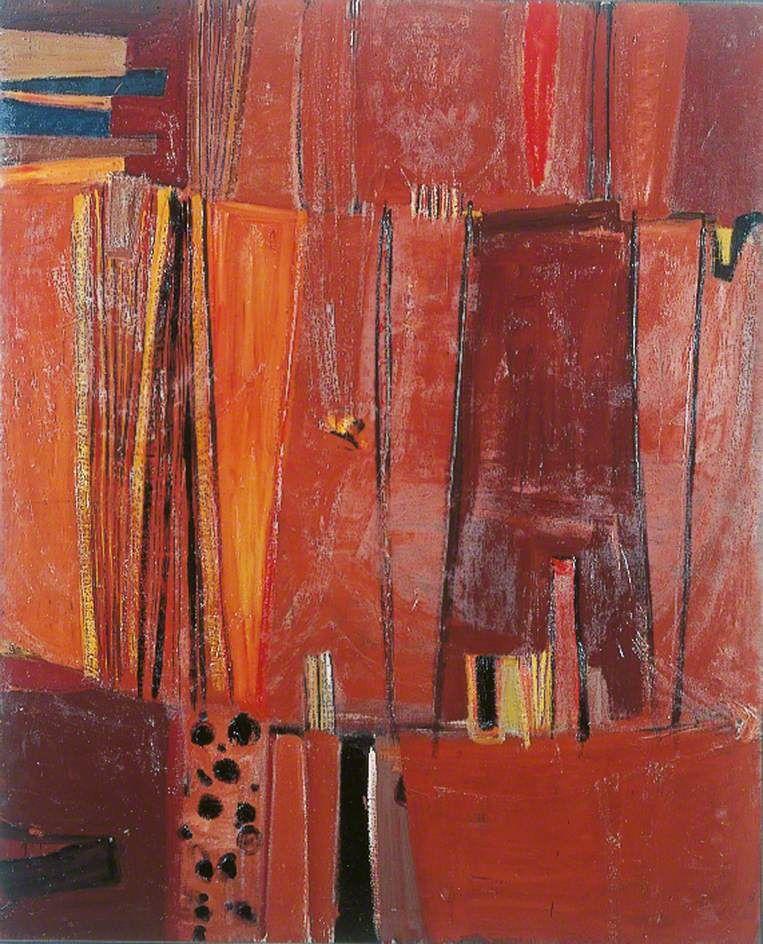 Brown verticals artwork art uk art