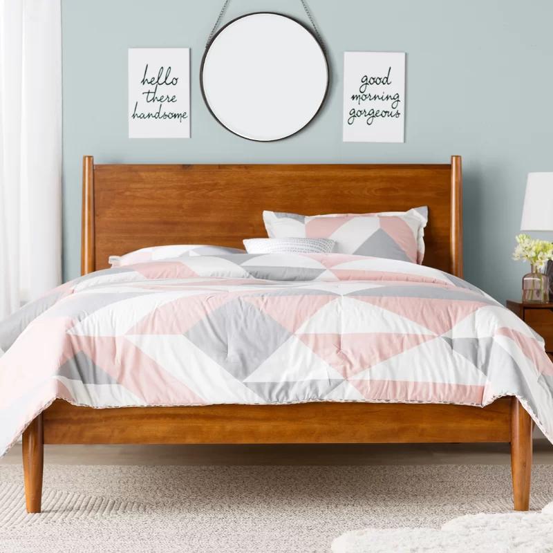 Mason Platform Bed in 2020 Solid wood platform bed, Wood