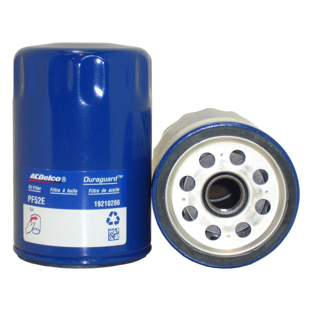 Acdelco Engine Oil Filter Pf52e Oil Filter Filters Pontiac Fiero