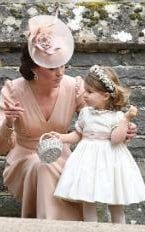 a991fe1f0c2 Classically beautiful  Pippa Middleton wears a lace dress by Giles Deacon  for her wedding to James Matthews