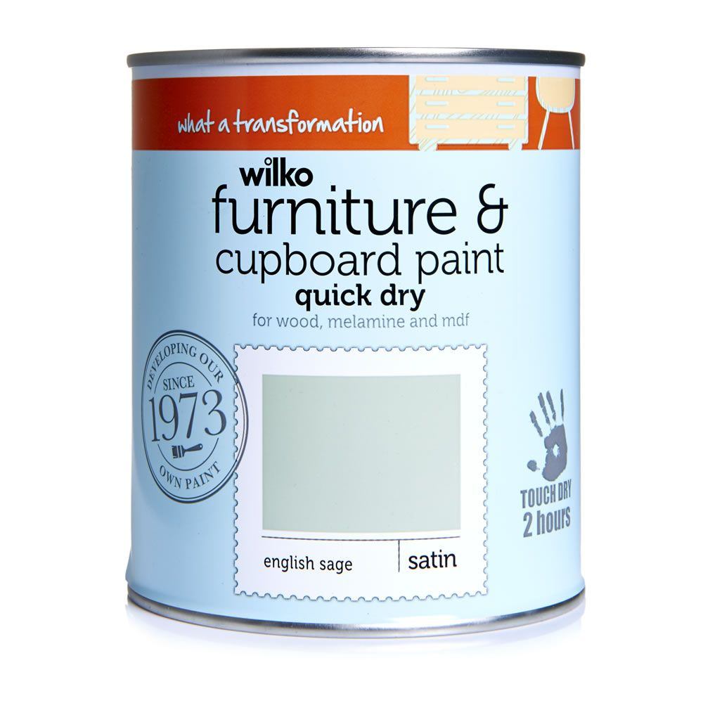 Furniture and Cupboard Paint English Sage 750ml   Cupboard, Sage and ...
