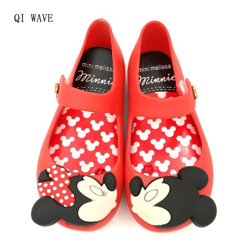 0b6865e6836 Mini Melissa 2017 kids Jelly Shoes Girls Boys Sandals Baby Melissa ...