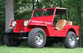 What A 1947 Cj2a Willys Jeep Looks Like Polished And Taken Care Of