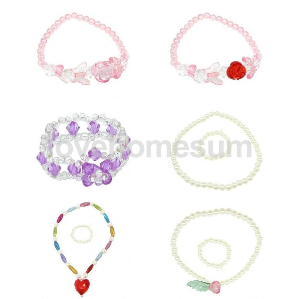 Fashion Necklace Bracelet Jewellery for 18/'/' AG American Doll Dolls Accessories