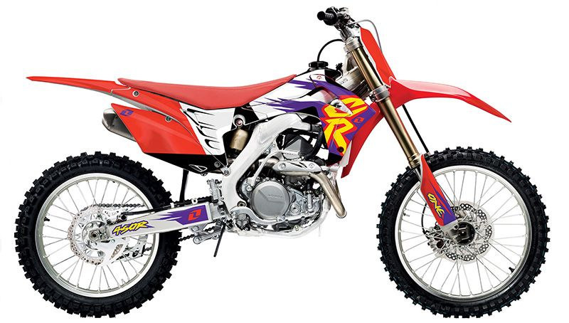 6258cadb8cc7a4 One Industries - 2014 Throwback Graphic Kit (Honda) - Motocross gear, parts  and accessories distributor - Online Motocross Store - We offer some of the  most ...