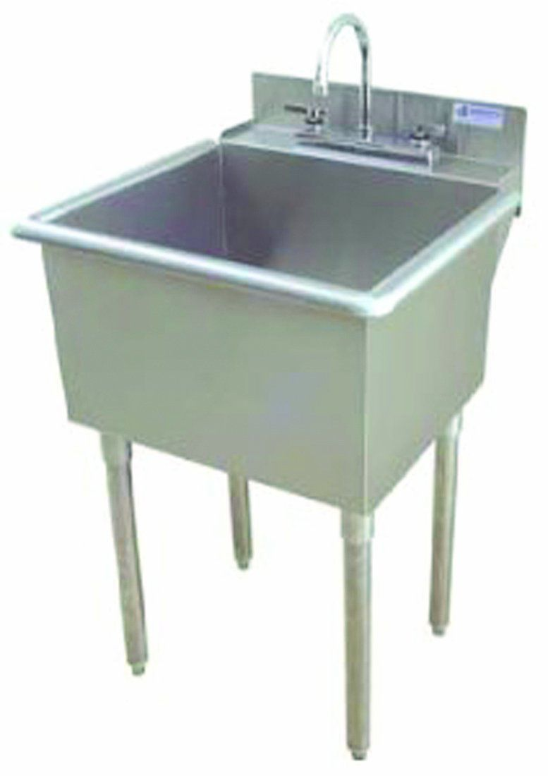 Griffin Lt 118 Utility Sink With Drain Stainless Steel
