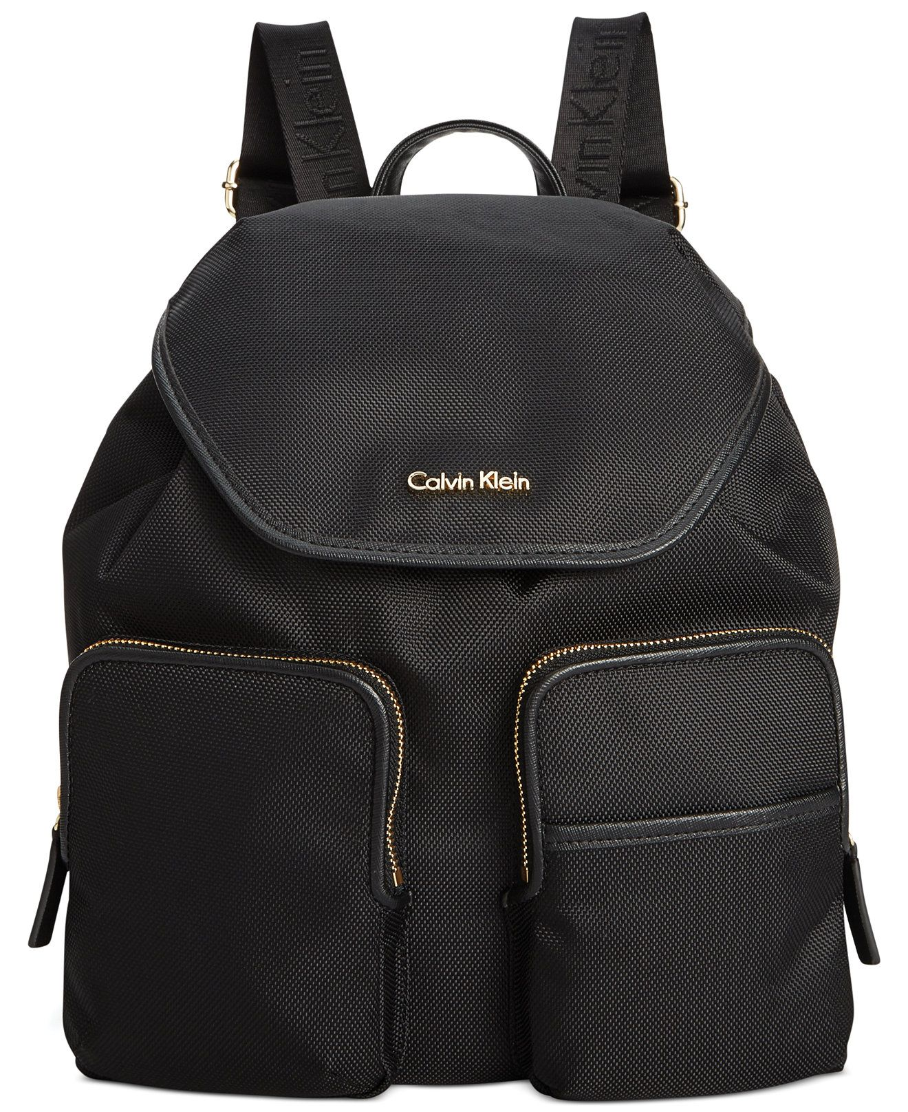 calvin klein parker ballistic nylon backpack backpacks
