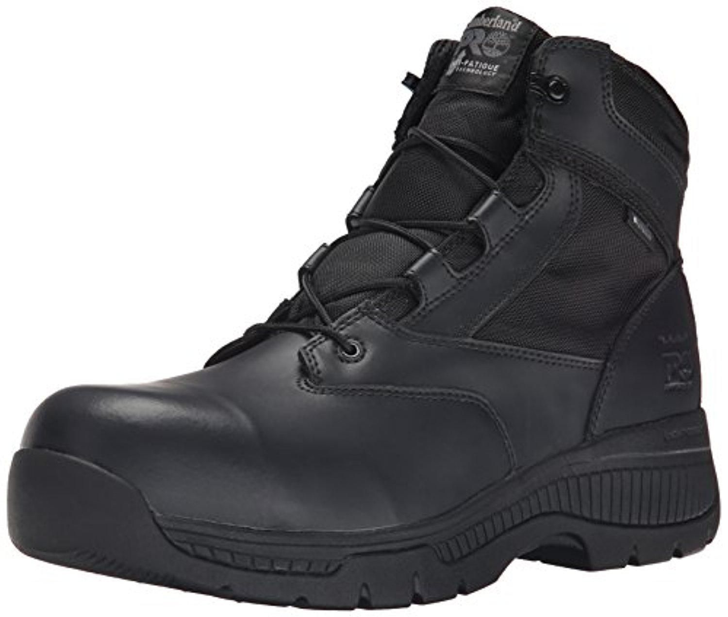 3824725e658 Timberland PRO Men's 6 Inch Valor Comp Toe WP Side Zip Work Boot ...
