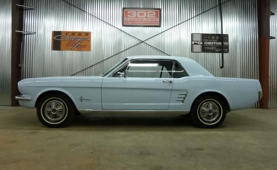 1966 Mustang Coupe Inline 6, Automatic, Recent Paint, New Brakes, Very Original and a Great Driver! | Mainly Muscle Cars