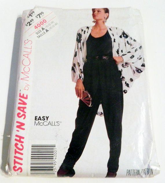 1980s Cocoon coat jacket bias tank top by retroactivefuture