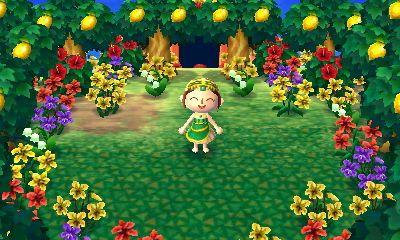 Super Cute Lemon Tree Faery Grove New Leaf Animal Crossing Fairy Dress