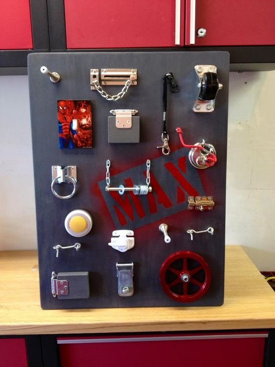 Busy Board Cheap And Awesome Diy Busy Board Busy Boards For