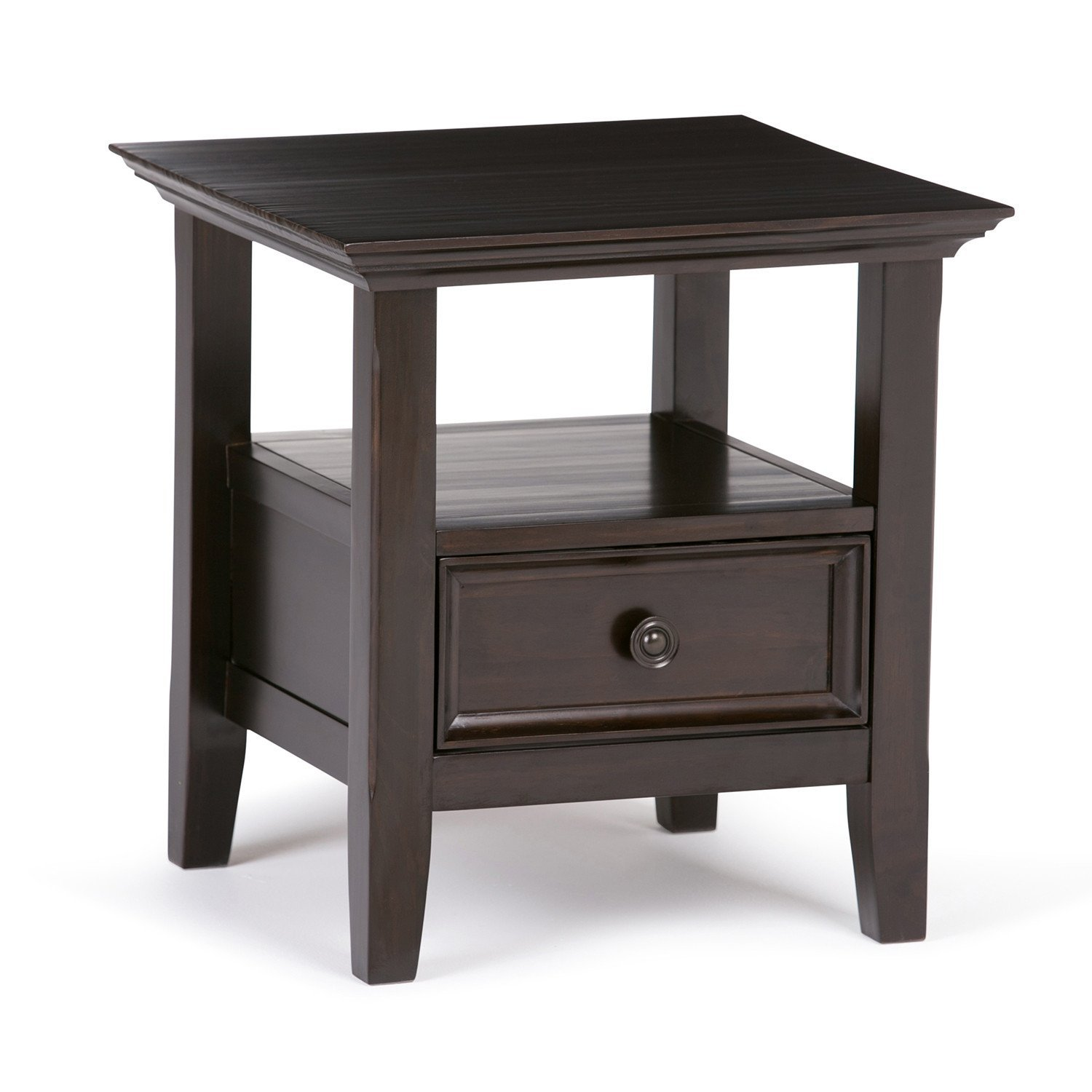 Amherst End Table End Tables Wood End Tables End Tables With Storage