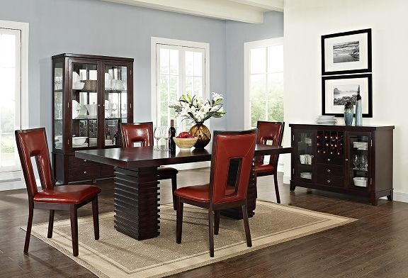 Costa Paso Red Dining Room Collection