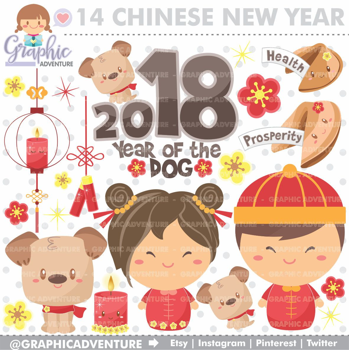 75off chinese new year clipart commercial use chinese new year of the dog clipart year of the dog clipart new year of the dog clipart