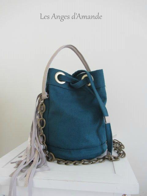 patron couture gratuit sac seau
