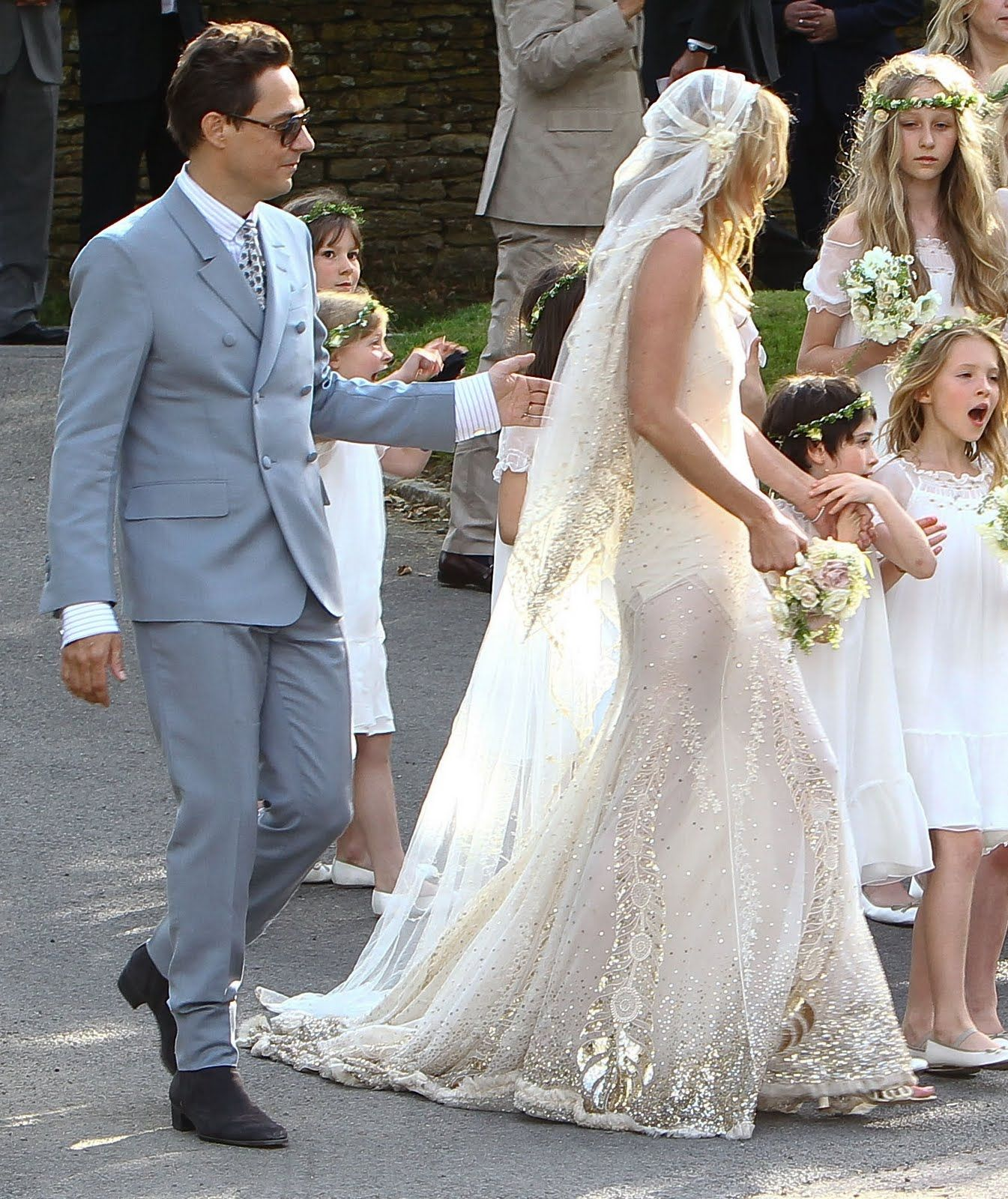 Kate moss wedding dress  This years best wedding dress in my opinion goes to a different