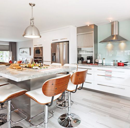 Une cuisine au confort maximal Design Inspiration Pinterest