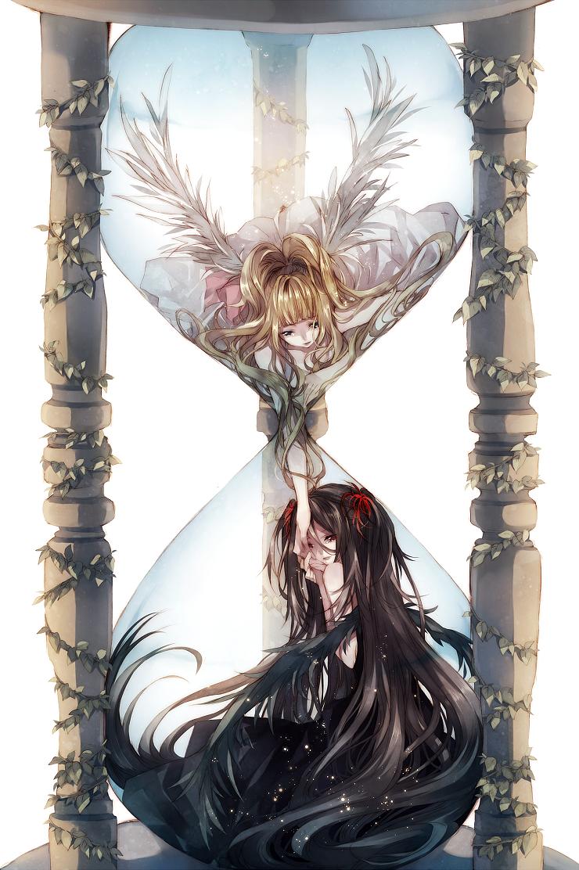 Photo of Anime Photo: hourglass