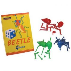 Be the first to build your beetle in this lovely reproduction of a vintage game.