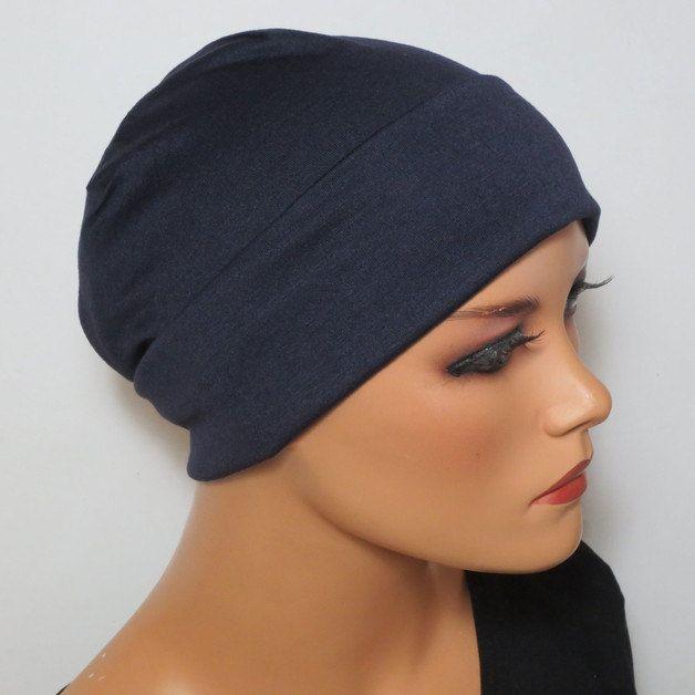 Leichte Nacht/Schlaf/Unterziehmütze viele Farben ideal für Chemo Alopezie Haarfall von KopfundKragen auf Etsy