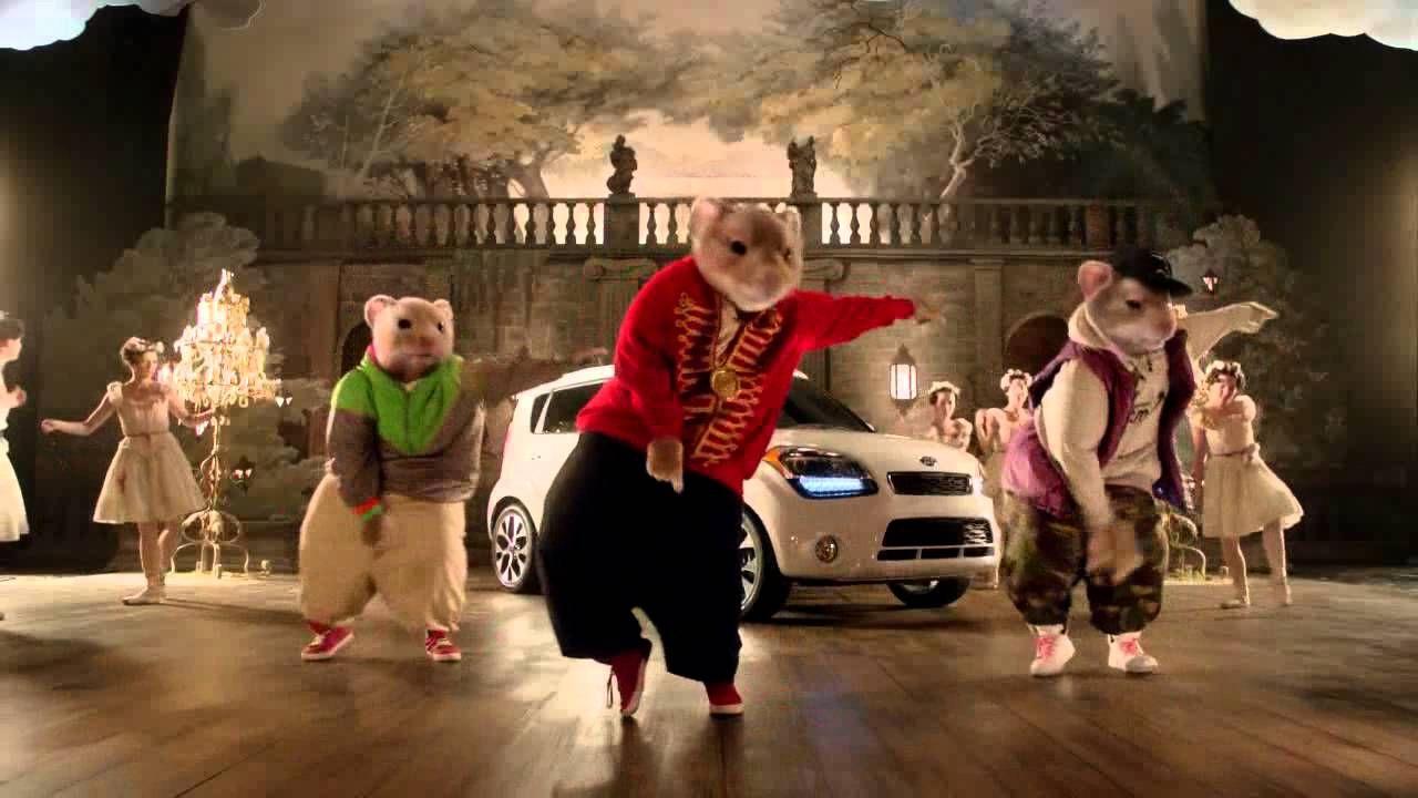Marvelous 2013 Kia Soul Hamster Commercial Gangnam