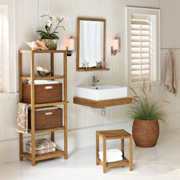 Reader Question Bathroom Cabinets Part 2 Teak Bathroom Bathroom Storage Stand Small Bathroom Diy