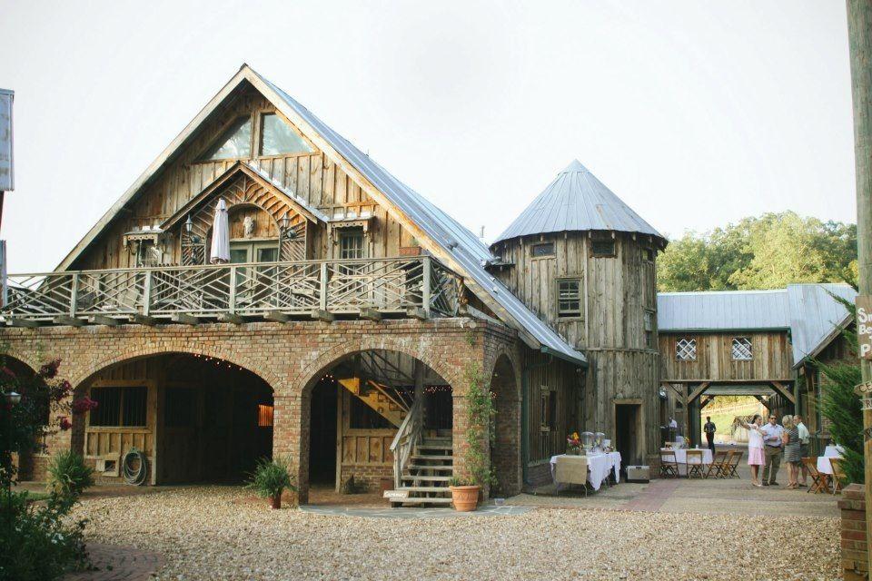 Entrance view of wedding venue The Farm Rome GA