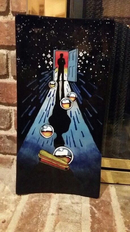 Twilight Zone Pinball Motif On Ceramic Platter Pinball Ceramic Platters Pinball Wizard