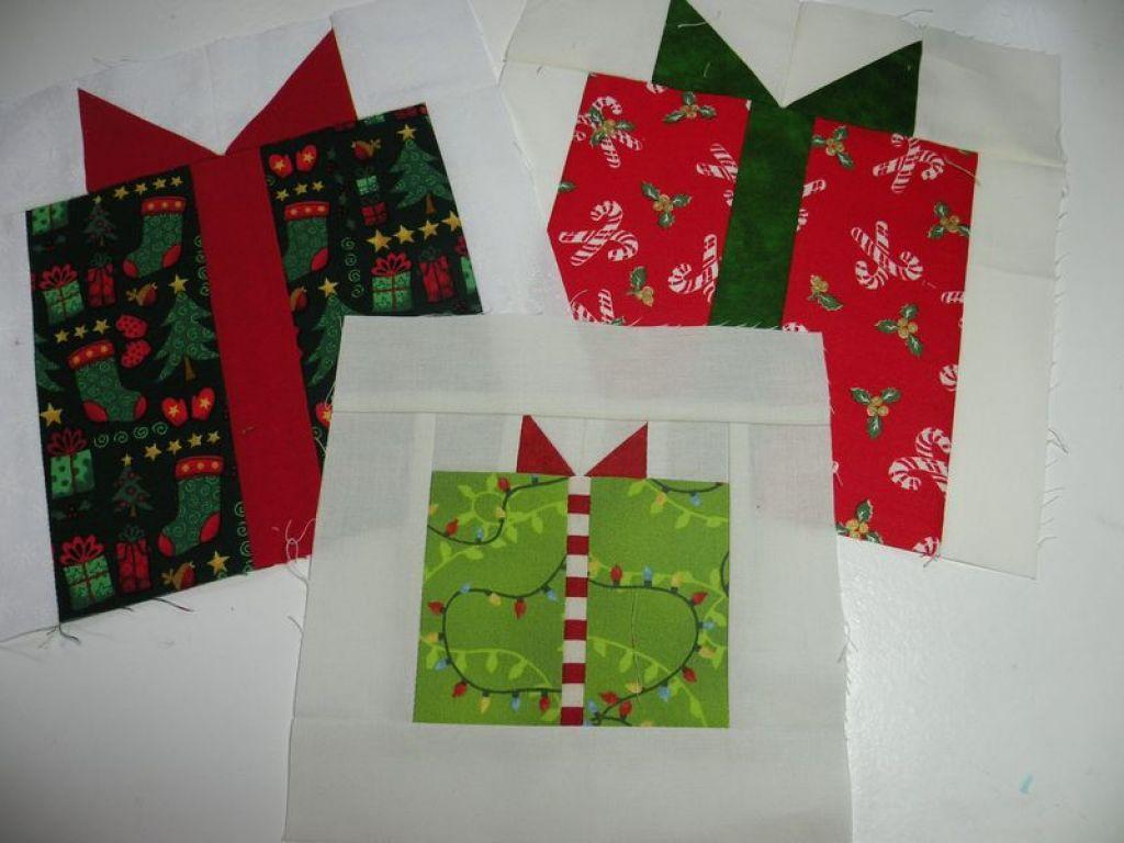 Christmas Present Quilt Block Pattern Healthy Lunch Pinterest