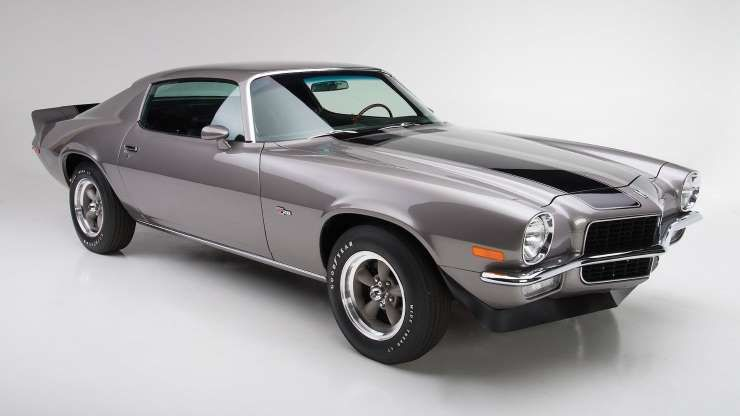 With 360 horsepower, the 1970.5 Camaro Z/28 was only ...
