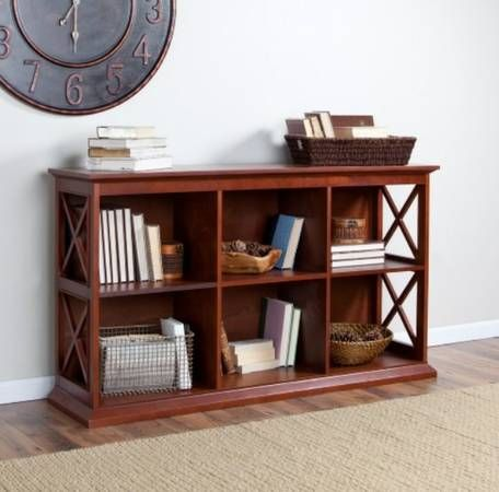 New bookcase/console table