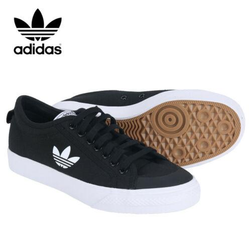 Bajo mandato enero Estación de policía  Adidas Originals Nizza Trefoil Men's Running Shoes Sneakers Casual Black  FW5185 | Running shoes for men, Running shoes sneakers, Sneakers