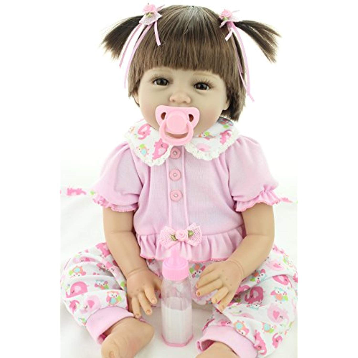 22Inch 55cm Real Life Like Reborn Baby Doll Gift Realistic Looking Baby Girl