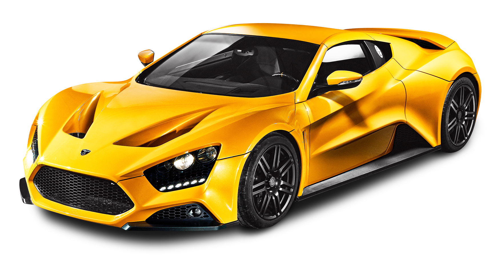 Yellow Zenvo ST1 Car PNG Image (With images) Zenvo st1