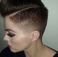 Women With Pixie Fades Google Search Short Fade Haircut Fade Haircut Short Hair Styles