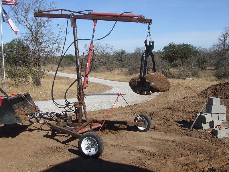 Triple Axis Crane by CenTex -- Homemade triple axis crane ...