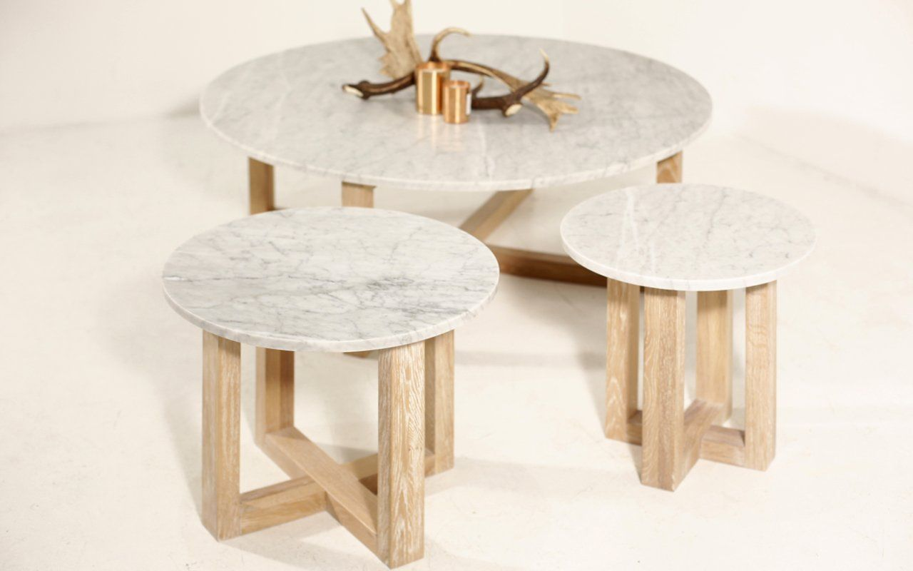 Kara Round Marble Side Table Marble Side Table Round Marble Side Tables Coffee Table [ 800 x 1280 Pixel ]
