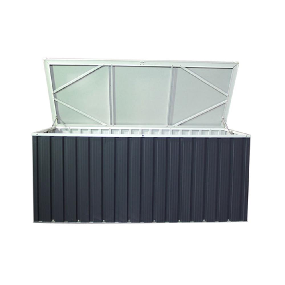 Tepro Metall Geratebox 170x70 Cm Stahlblech Aufbewahrung Garten Gartenbedarf Garten Und Freizeit Stahlblech Aufbewahrung Garten Box