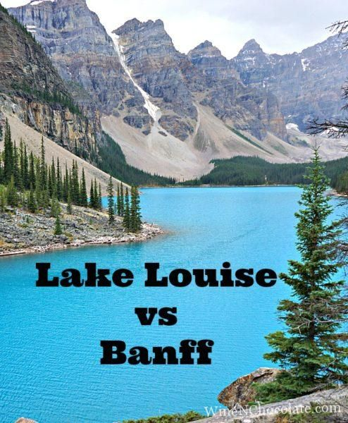 Staying in Lake Louise vs Banff