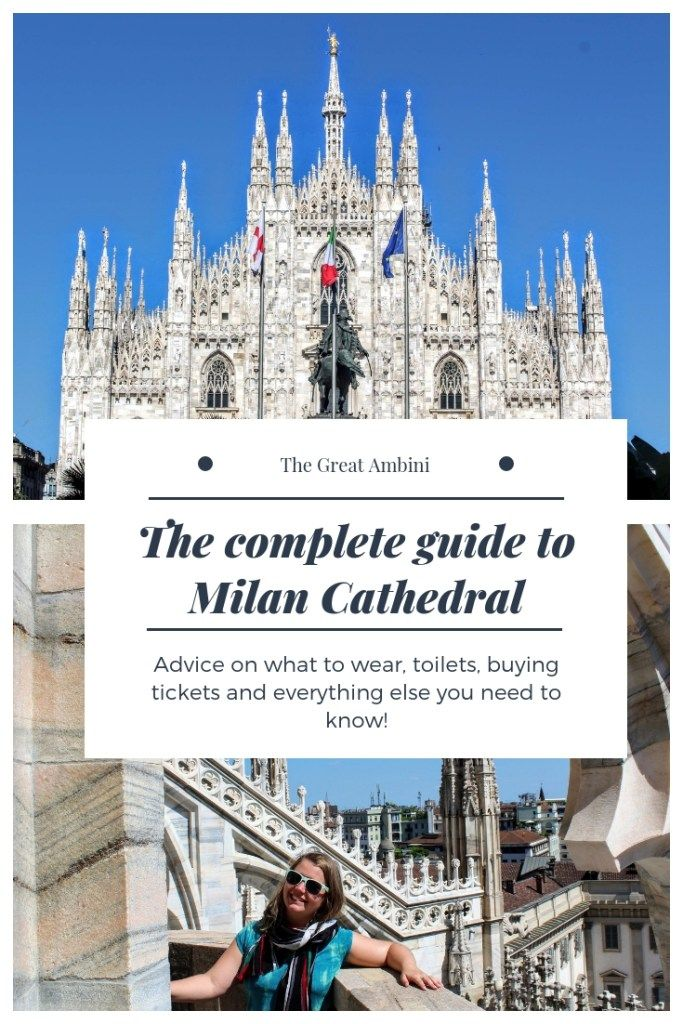 Milan Cathedral is a must see sight in Milan and this is the guide to everything you need to know. #milan #cathedral #milancathedral #duomomilano #duomo