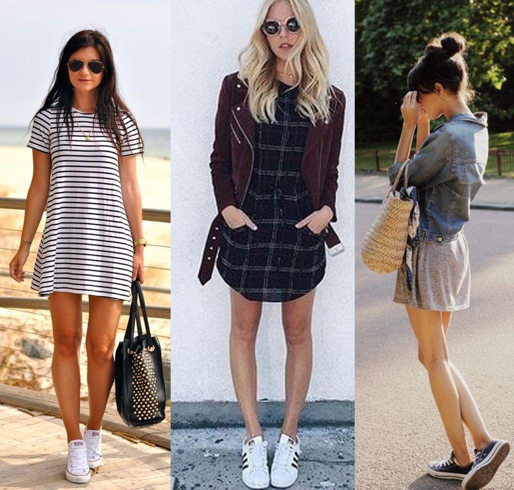 Outfit De Tenis Con Falda | Fashion | Pinterest | Tenis Falda Y Ropa