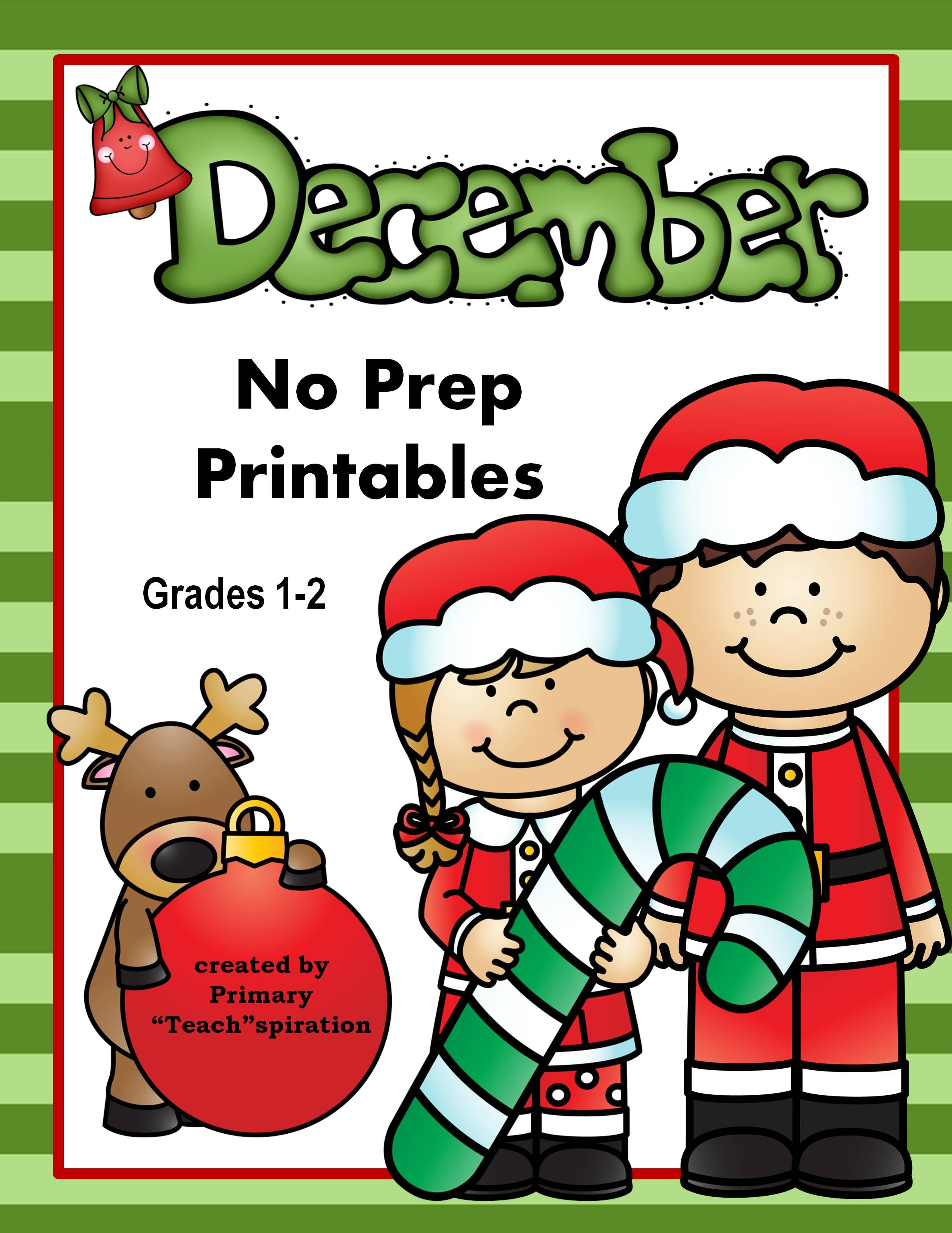 Math And Literacy 1st Amp 2nd Grade Printables