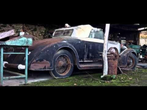 Discovery Of 60 Forgotten Automobiles Collection Baillon YouTube