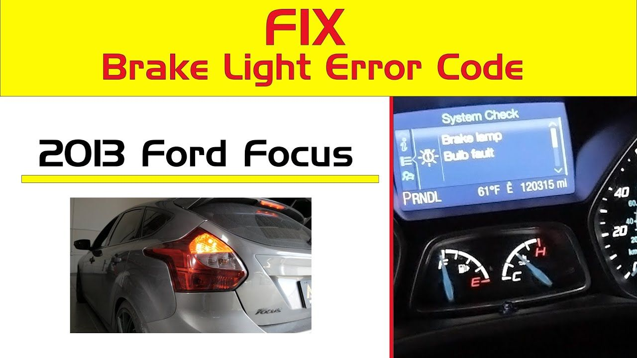 Why How To Fix Brake Lights Stays On Your Dash Not Turn On Or Off Lights Car Led Lights Fix It