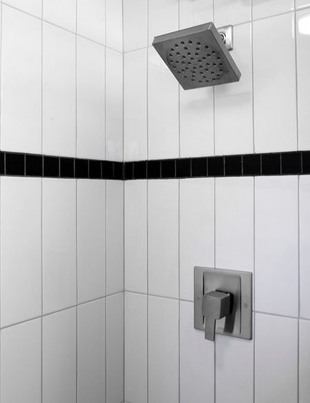 Vertical Subway Tile Installation Vertical Shower Tile Oh Hey